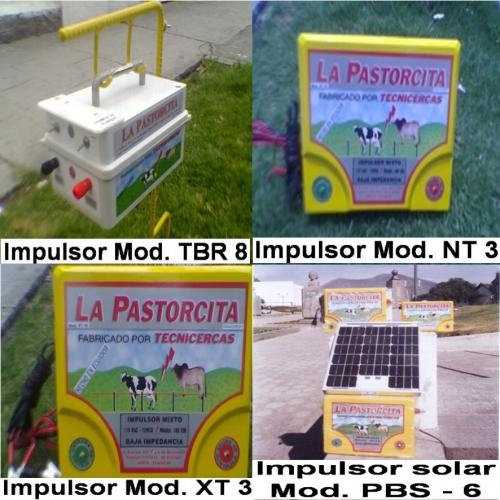 Cercas electricas para control del ganado