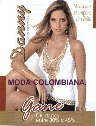 Danny ropa colombiana por catálogo