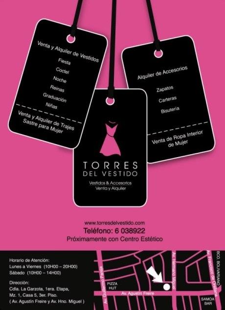 Alquiler de vestidos y accesorios (guayaquil - ecuador) www.torresdelvestido.com