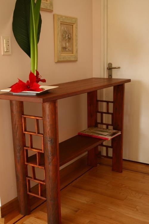 Muebles Troncos. Cargando Zoom. Good Mesa Rustica De Jardin Troncos ...