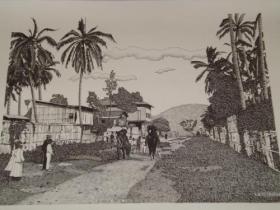 dibujos de guayaquil antiguo y otras tematicas a plumilla en Guayas