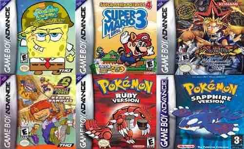 Descargar pack de juegos de pokemon para la gameboy advance.