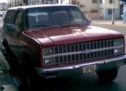 Vendo Chevrolet Blazer año 1982 Buen estado