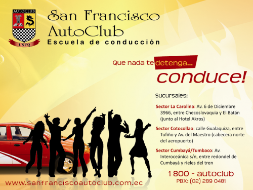 Escuela de conduccion san francisco autoclub