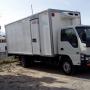 Por viaje vendo camion furgo refrigerado nuevo