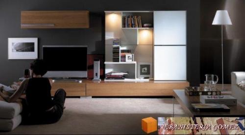 muebles para tv ,salones,bibliotecas,carpinteros,madera,pergolas