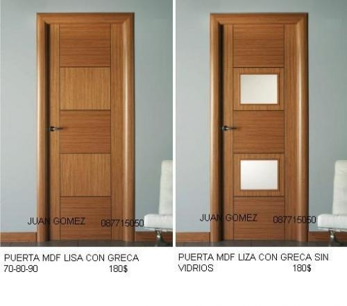 Jaladeras para puertas de ba o for Puertas de madera para bano precios