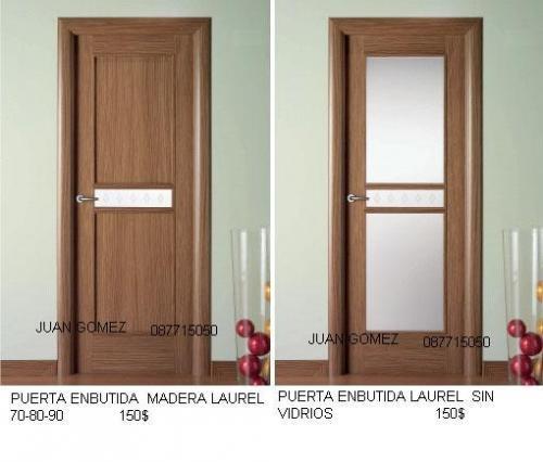 Imagenes De Puertas Para Baño De Aluminio:Puerta De Madera Moderna