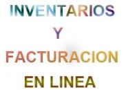 INVENTARIOS Y FACTURACION EN LINEA POR INTERNET