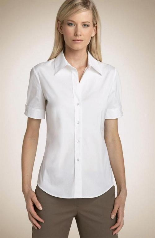 Estilos de blusas formales - Imagui