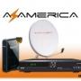 kit satelitales , antenas , azamerica s808, quito ( ORIGINALES ) $ 135