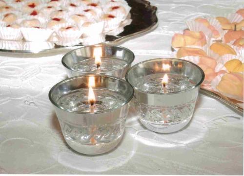 Fotos de Parafina en gel y velas decorativas. 2