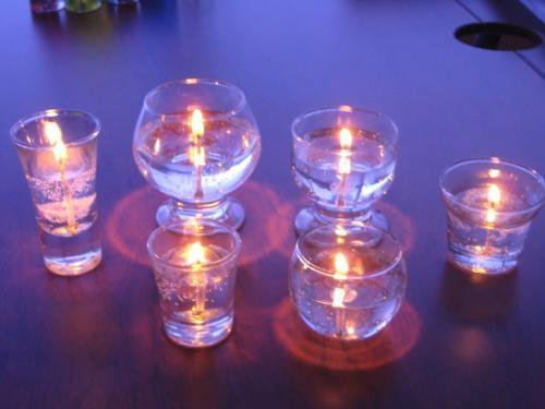 Fotos de Parafina en gel y velas decorativas. 4