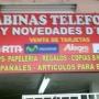 DE OPORTUNIDAD VENDO NEGOCIO... CABINAS TELEFONICAS Y NOVEDADES