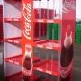 vendo exhibidores coca cola, pepsi, fanta, etc