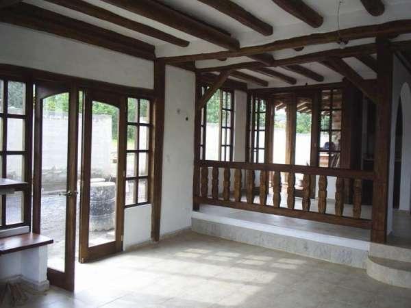Fotos de construcci n de casas rusticas mixtas y o madera - Casa de madera rustica ...