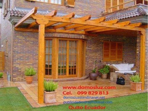 Pergolas de madera con policarbonato picture - Pergolas de hierro ...