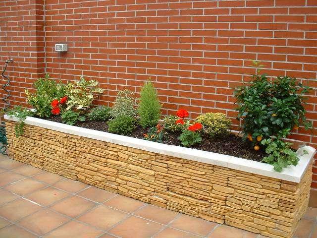 Fotos de jardineras madera interior exterior - Jardineras para terrazas ...