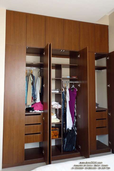 Pin closets con zapateras on pinterest for Disenos de zapateras de madera