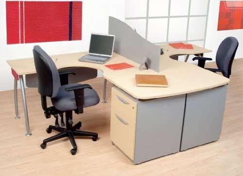 Muebles de una oficina imagui for Muebles para oficina 3