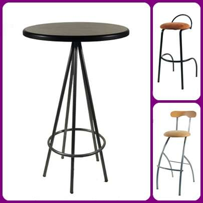 Pin muebles para negocios cafeterias on pinterest for Sillas para negocio