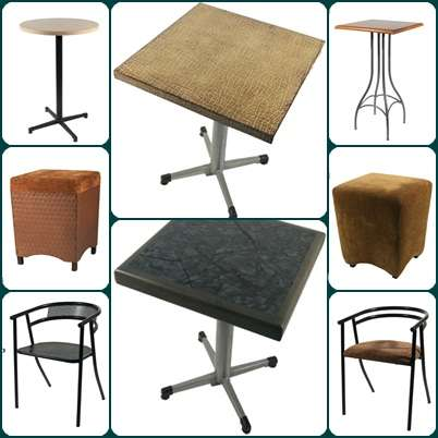 Mesas y bancos quotes for Sillas bar muebles y accesorios