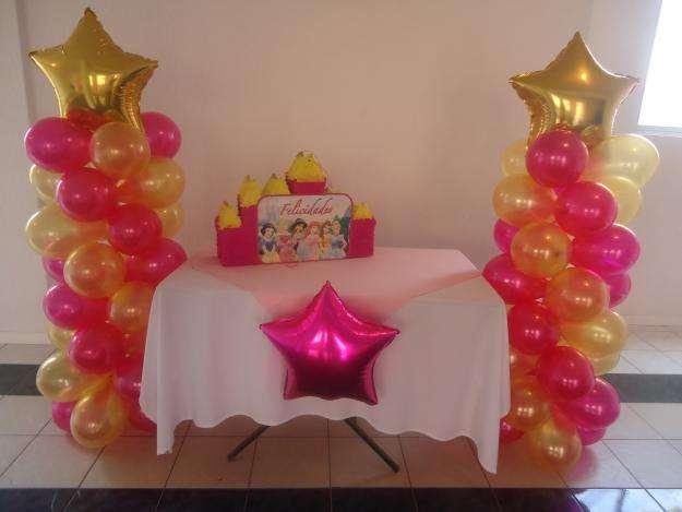 Imagenes de adornos con globos for Globos decoracion fiestas