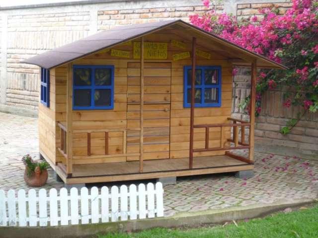 Casas madera infantiles dise os arquitect nicos - Venta de casitas infantiles ...