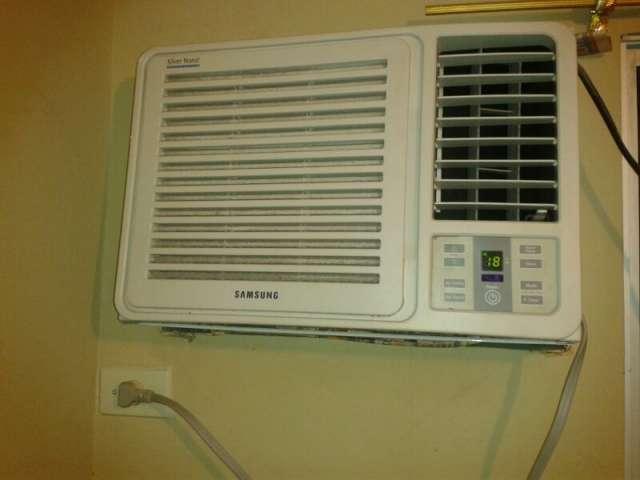 Clima de ventana samsung 12000 btu airea condicionado for Aire acondicionado 12000 frigorias