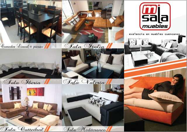 Fabricamos muebles de sala cuencanos en Cuenca, Ecuador  Muebles
