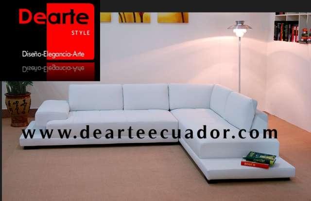 juegos de sala modernos y elegantes sofa