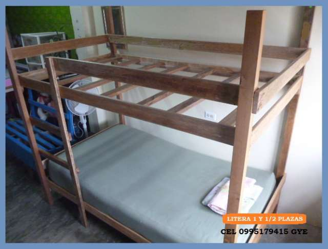 Cuna y cama abajo 2 en 1 en guayaquil imagui for Como hacer una cama de madera de 2 plazas