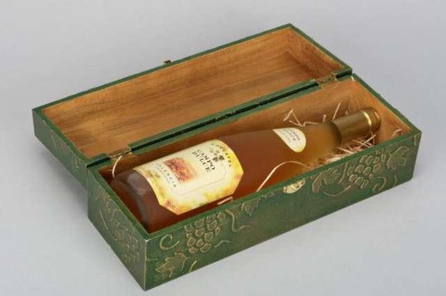 Caja de madera para botella en Quito Decoracin y jardn 255964