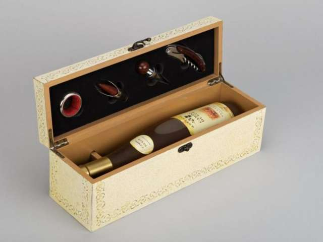 caja para vino con accesorios - Cajas De Vino Decoradas