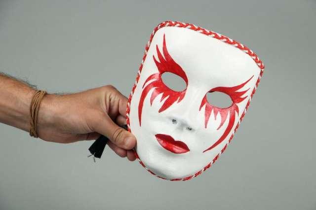 La máscara para la defensa de la persona del frío