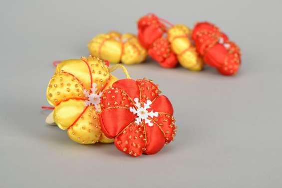 set de adornos navideos de tela para para el rbol de navidad