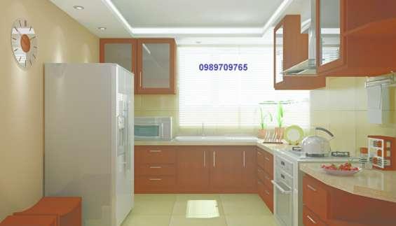 Muebles de cocina en madera mdf ideas for Muebles de mdf