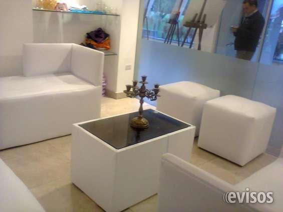 Puffs alquiler, cambio y venta, salas lounge en Quito - Muebles | 273477