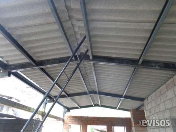 Estructura metalica para techo affordable estructuras for Como hacer una estructura metalica para techo