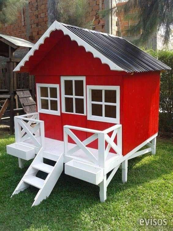 Casita para ninos dise os arquitect nicos for Casitas de madera para ninos