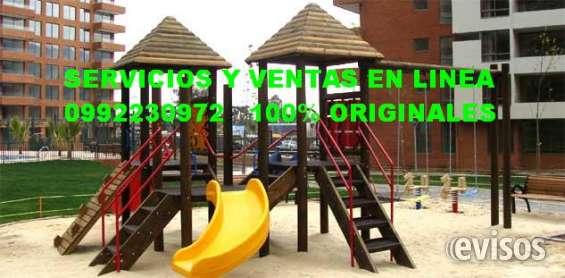Juegos infantiles de madera , ecuador en Guayaquil - Decoración y ...