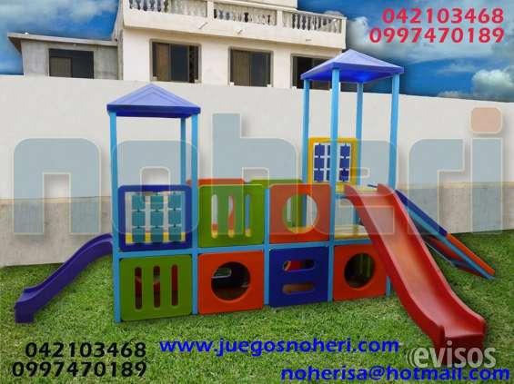 Juegos infantiles plsticos exterior noherisa en Guayaquil