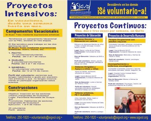 Fundacion sigvol de voluntariado - ecuador
