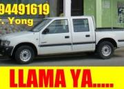 Camioneta 2005 d/c full con chofer (gye)