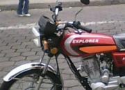 Vendo Moto Explorer Nueva 2009