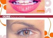 Tatuaje cosmetico profesional en cejas parpados y labios