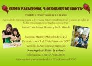 CURSO VACACIONAL COCINA REPOSTERIA NINOS NINAS INVIERNO 2010 BOCADITOS SAL DULCE PIQUEOS