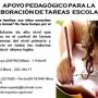 APOYO PEDAGÓGICO PARA LA ELABORACIÓN DE TAREAS ESCOLARES