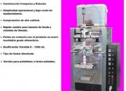 Maquina para Sachet de Cloro y Desinfectantes