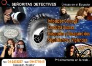 SEÑORITAS DETECTIVES